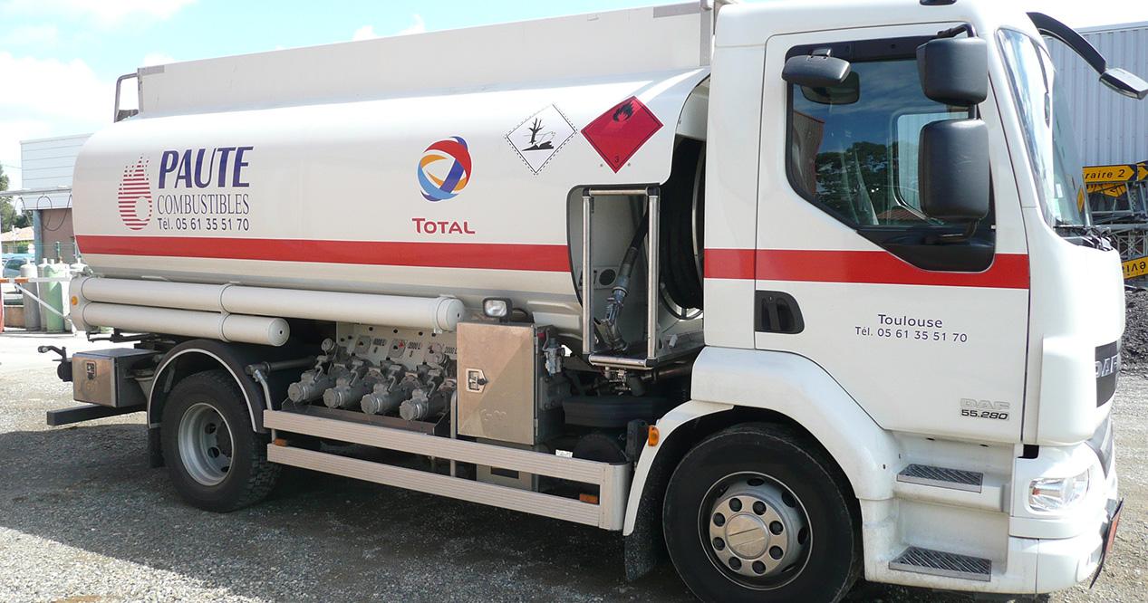 Camion Paute Combustibles